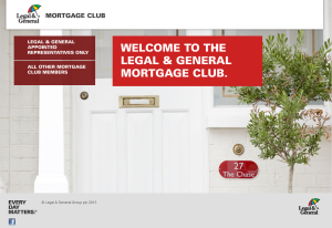 Legal & General Mortgage Club
